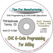 Learn G-Code Programming The Fast Way, With Video Training.