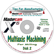 MultiAxis Machining - Disk 2